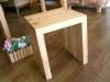 柚木原木椅16