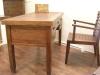 柚木書桌椅62