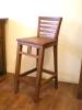 柚木高腳椅52
