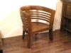 柚木沙發椅57