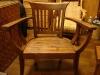單人造型八字椅
