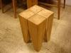 柚木牙齒造型椅