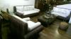 藤與海草編織~現代造型沙發組