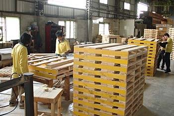 木箱、棧板製作與加工過程1