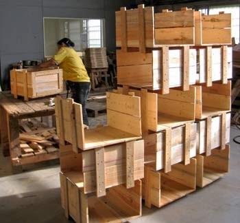 棧板、木箱製作與加工過程3