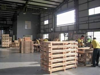 木箱、棧板製作與加工過程4