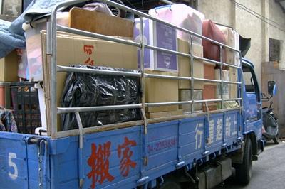 台中搬家公司搬家貨車