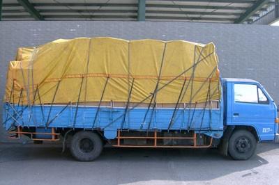 上新-台中搬家公司搬家貨車(打包完成)